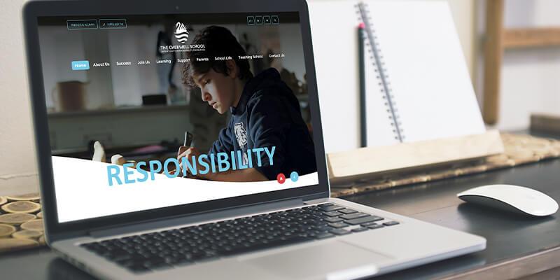 School website projects the cherwell school